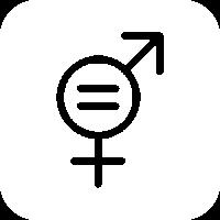 Icono ODS5: Lograr la igualdad de género y la autonomía de todas las mujeres y niñas
